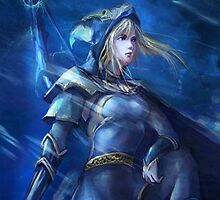 Ashe League of Legends LoL by gleviosa