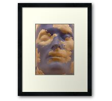 Rene Magritte - The Future Of Statues Framed Print