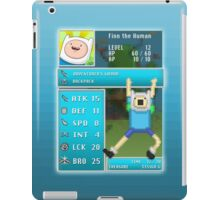 Finn PRG Stat Page iPad Case/Skin