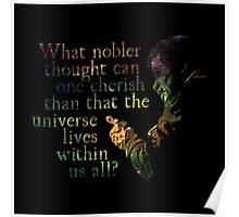 Nobler Thought - Neil DeGrasse Tyson Poster