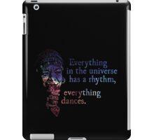 Everything Dances - Maya Angelou iPad Case/Skin