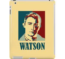Sherlock Holmes Watson iPad Case/Skin