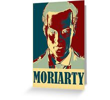 Sherlock Holmes Moriarty Greeting Card