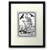 TAROT: Death Framed Print