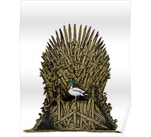 A Game On Throne Poster