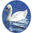Swan by Elizabeth Lock