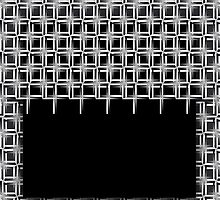 B&W pattern X by dominiquelandau