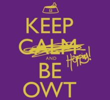 Discreetly Greek - Keep Calm and Be OWT by integralapparel