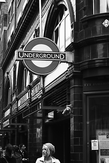 Covent Garden Underground - London by Ed Sweetman