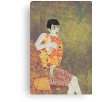 Sylvia Von Klimt Canvas Print