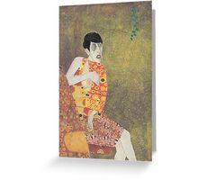 Sylvia Von Klimt Greeting Card