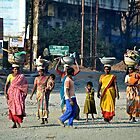 Streets of Mumbai by Carl LaCasse