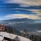 Innsbruck - Winter View by Stefan Trenker