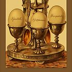 Vintage Eggs Greetings by Yesteryears