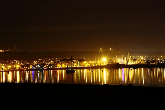 across the harbour by thermosoflask