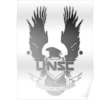 UNSC Faded  Poster
