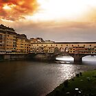 Clouds above Florence by Renzo Re