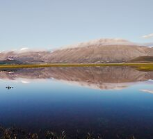 Mirroring in Castelluccio Plan by Renzo Re