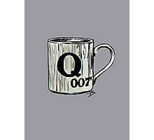 Letter Q, for 007 points... Photographic Print