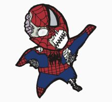 Zombie Spiderman by Axxerous
