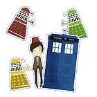11th Doctor and the Daleks by koroa