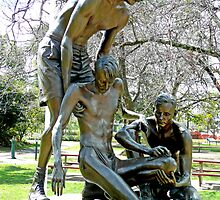 "Edward ""Weary"" Dunlop Memorial, Benalla, Vic. Australia by Margaret  Hyde"