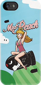 Miss Peach Pin-Up by mechantefille