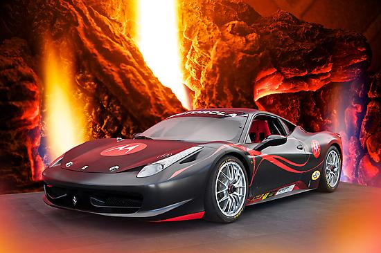Redemption - F458 Ferrari by DaveKoontz