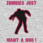 Zombie Hug Pink by ZombieBubble