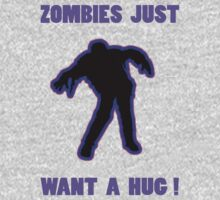 Zombie Hug Purple by ZombieBubble