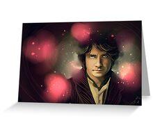 Bilbo Baggins Greeting Card