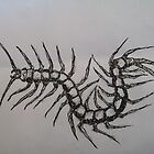 Tatto - centipede by Sushikant S.