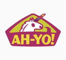 AH-YO! INDUSTRIES LOGO Pink Uni by YoungMulah