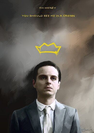 Moriarty portrait by koroa