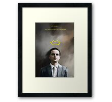 Moriarty portrait Framed Print