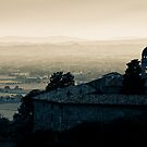 Sunset over Assisi by Kimmo Savolainen