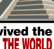 The Doctor saved us Sticker