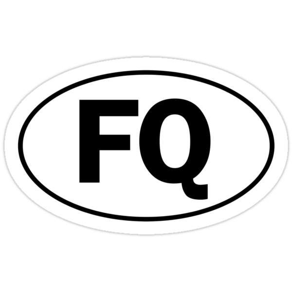 FQ - Oval Identity Sign by Ovals