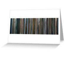 Moviebarcode: The Bad Lieutenant: Port of Call - New Orleans (2009) Greeting Card