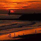 Sunrise over Tynemouth by Bootkneck