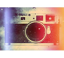 Leica tribute Photographic Print
