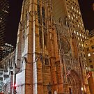 USA. New York. Manhattan. Saint Thomas Church. by vadim19