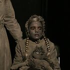 Victorian Child Living Statue by patjila