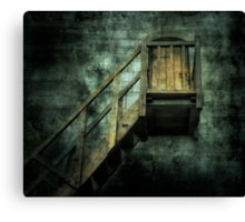 Stepping into mystery Canvas Print
