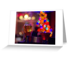 Have a Merry Cocktail and a Happy New Beer! Greeting Card