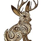 Jackalope Colored by jamiemcelroy