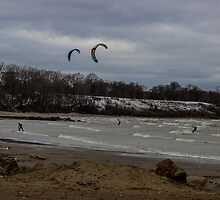 Kite Skiing by Nevermind the Camera Photography