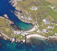 An Aerial view of Anglesey by John Maxwell