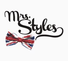 Mrs. Styles - Black Text by VRex