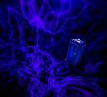 Blue Fire by drwhobubble